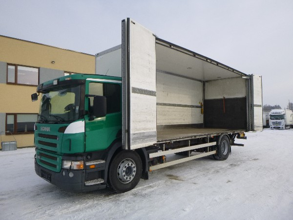 Scania P420 4x2+SIDE OPENING+TRAILER READY