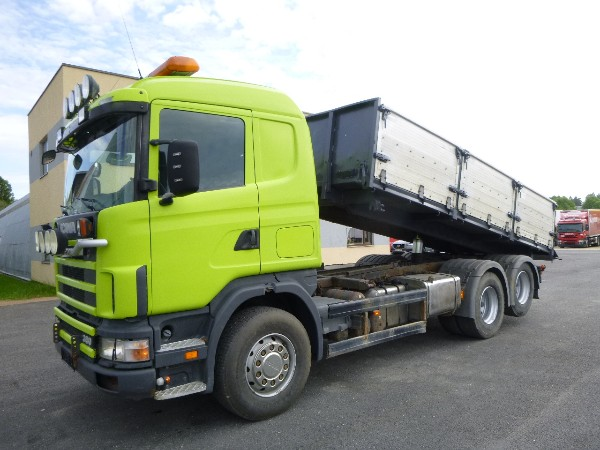 Scania P114 380 6X2 Full Steel