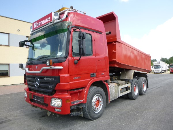 Mercedes-Benz Actros 2655 6x4+BOX HEATING