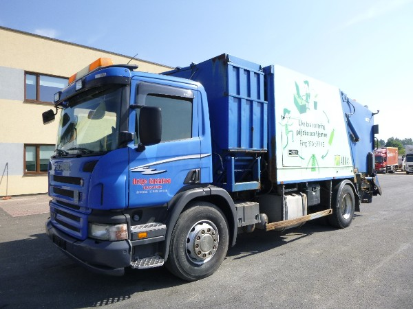 Scania P270 4x2+FAUN PRESS+MANUAL