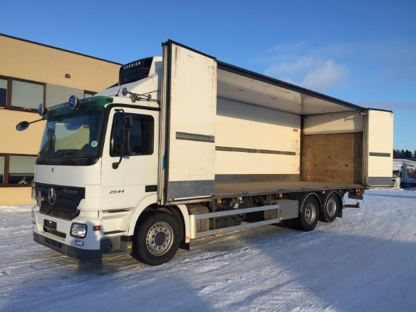 Mercedes-Benz Actros 2544 6x2 SIDE OPENING