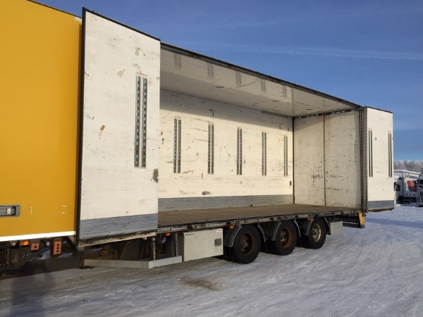 Trailer-Bygg 3-axel KB24 SIDE OPENING