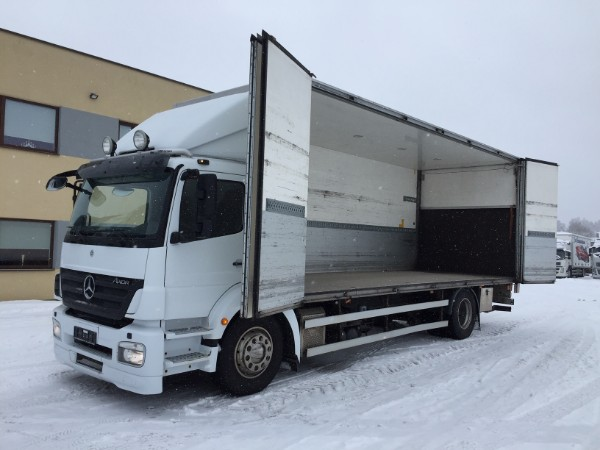 Mercedes-Benz Axor 1824 4x2+EURO5+SIDE OPENING