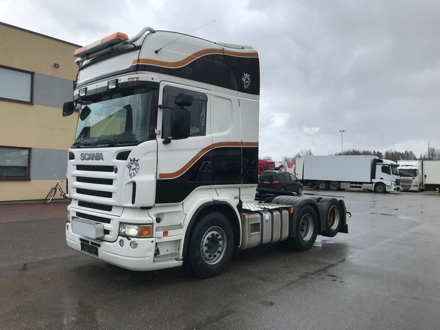 Scania R480 6X2 + RETARDER