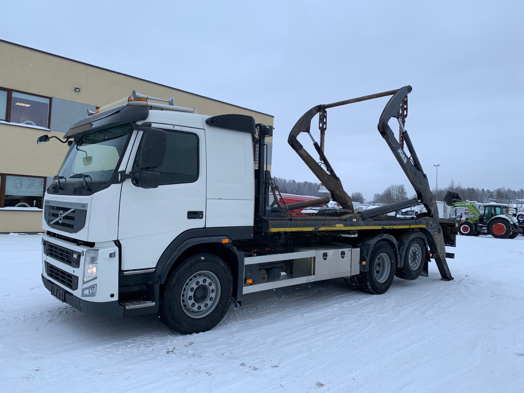 Volvo FM420 6x2+FULL AIR