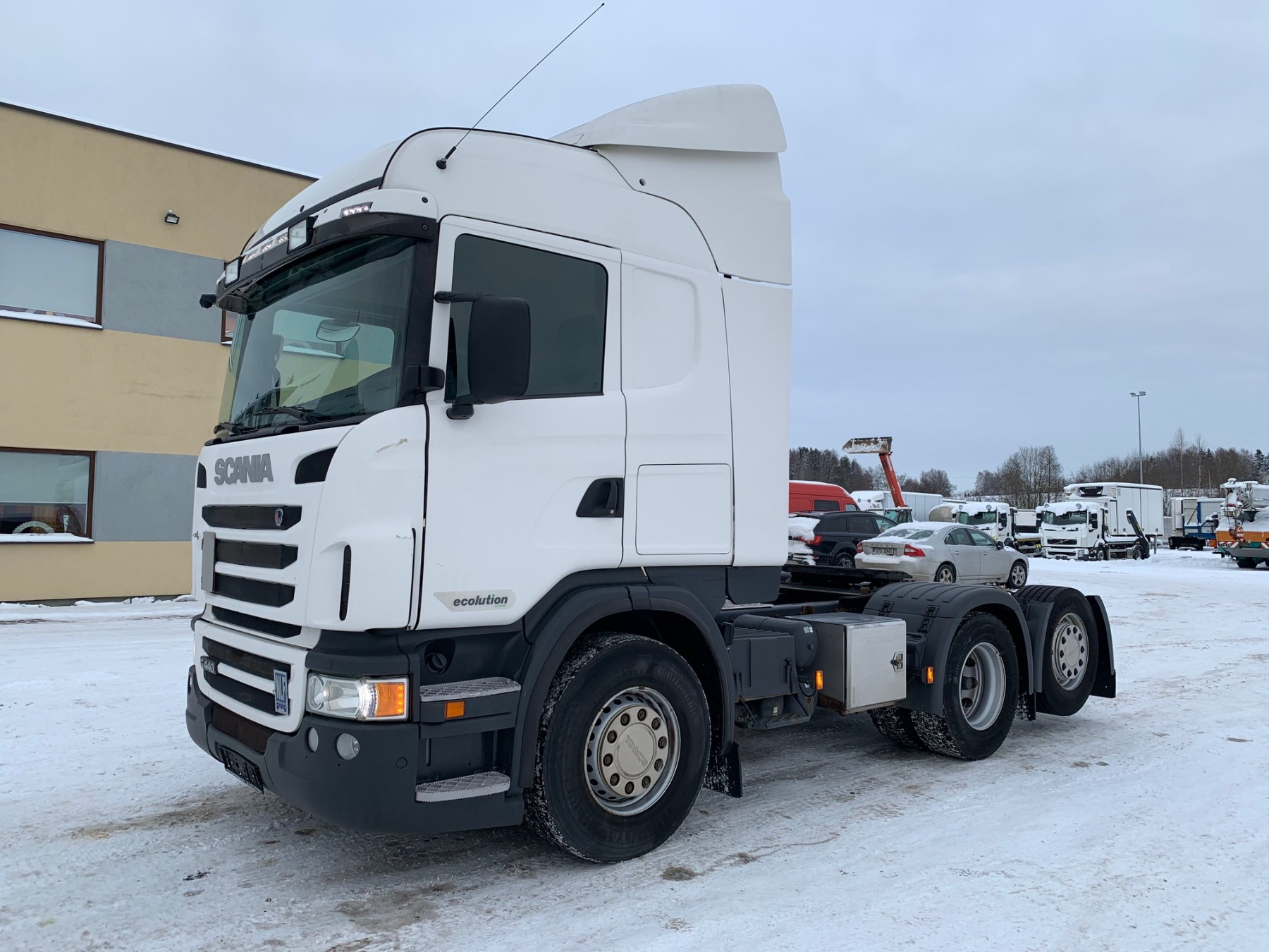 Scania G440 6x2+Euro5+OPTICRUISE