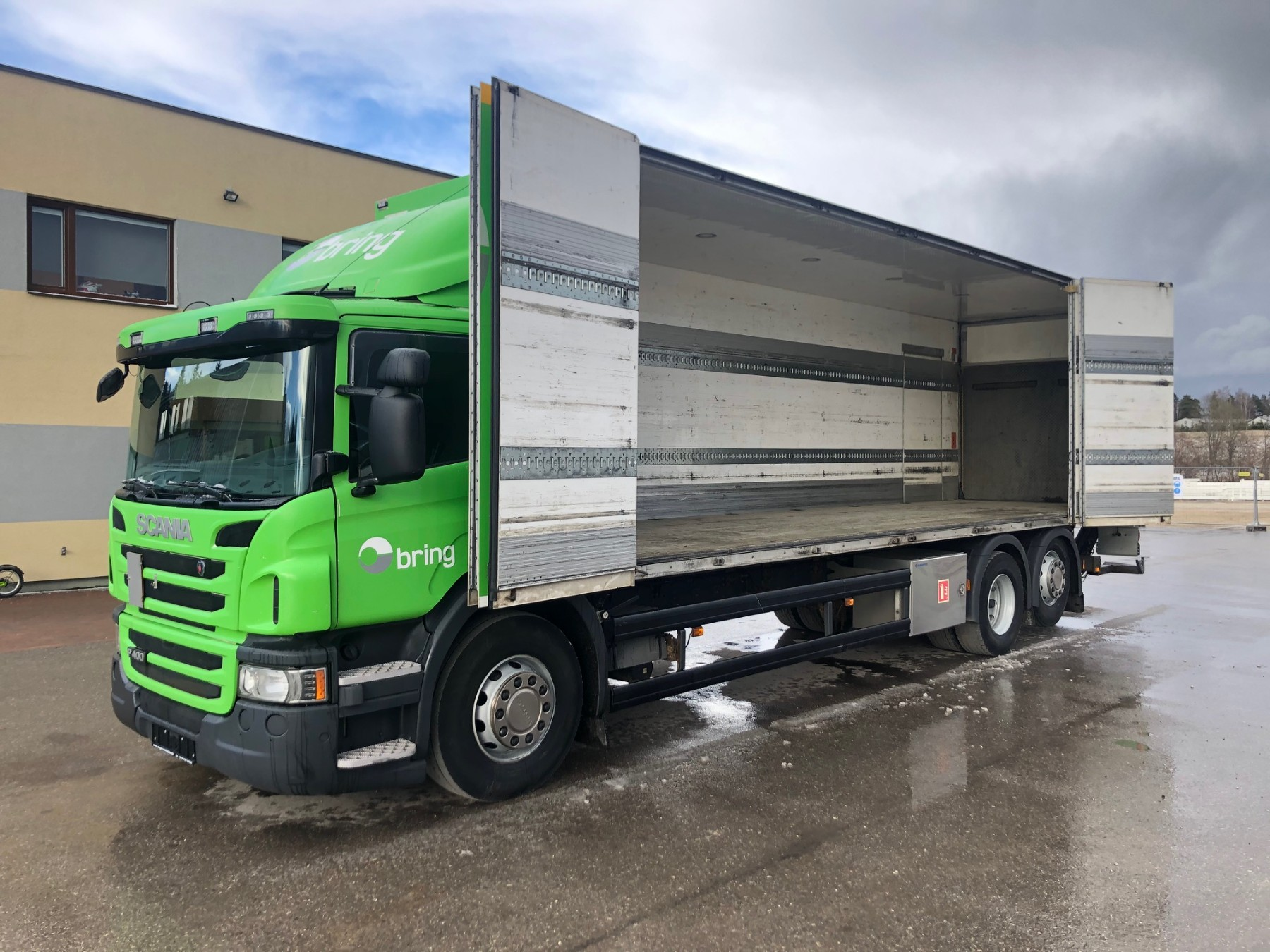 Scania P400 6x2+SIDE OPENING+RETARDER