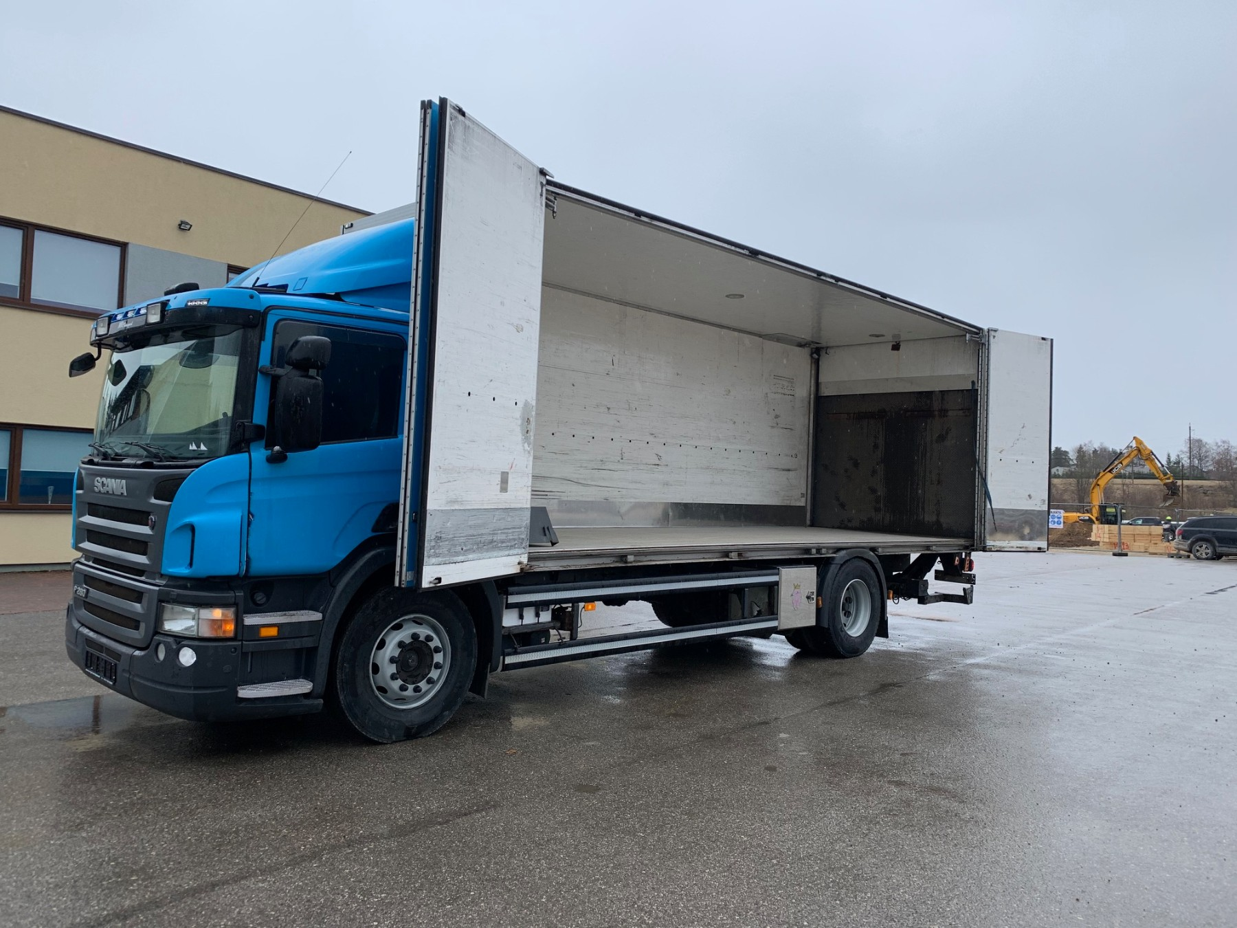 Scania P280 4x2+EURO5+SIDE OPENING
